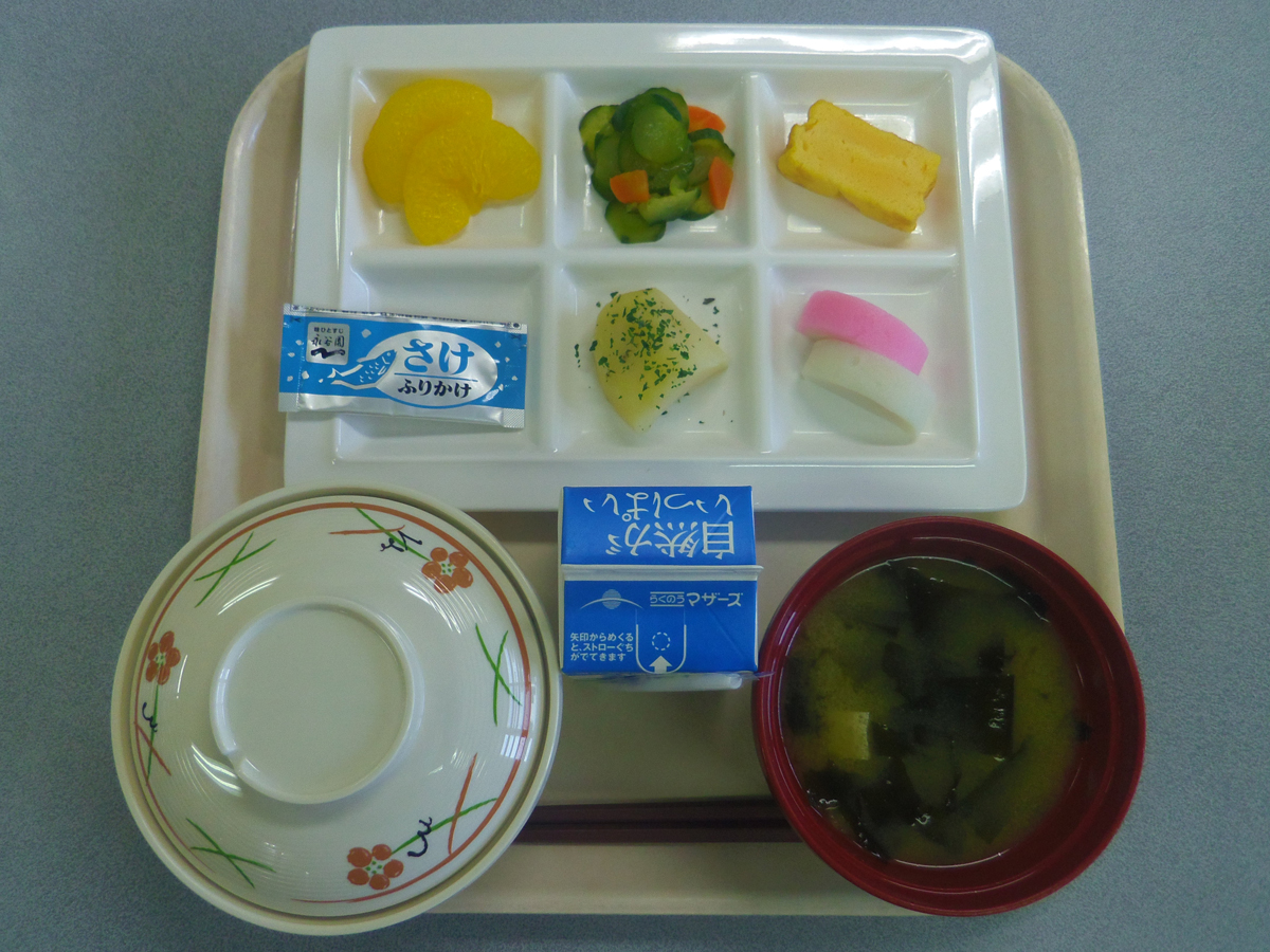 施設の食事2
